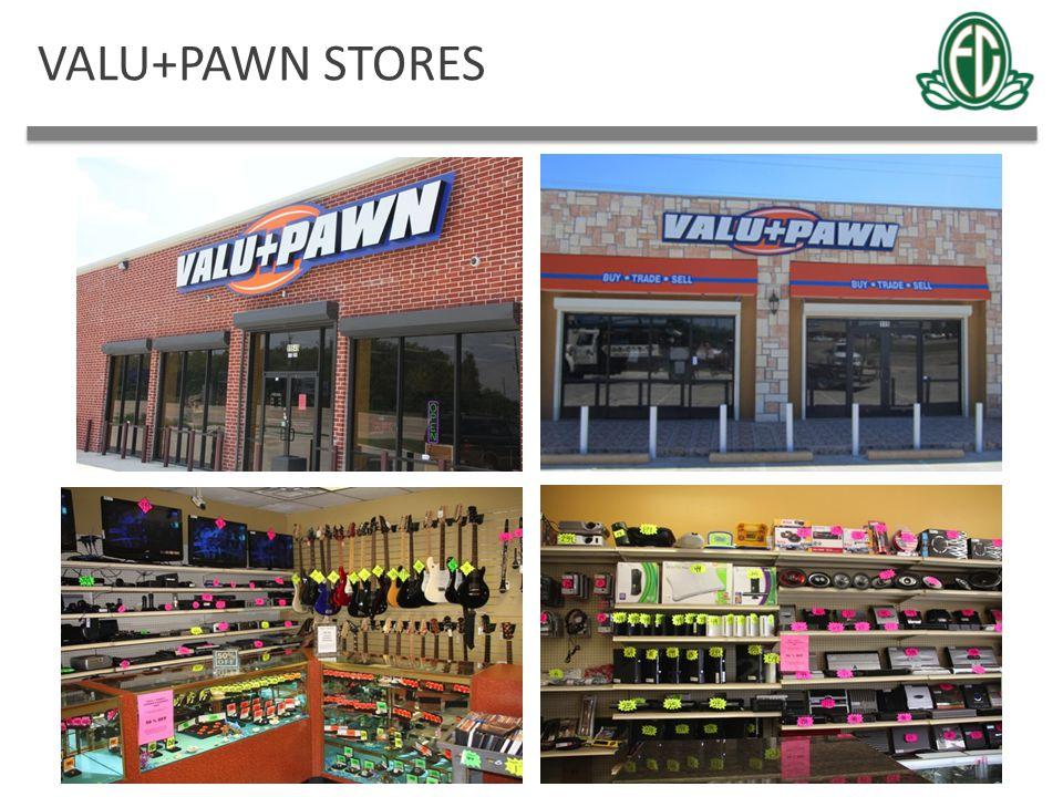 VALU+PAWN STORES