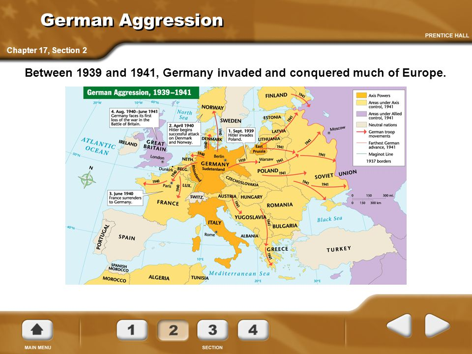 German Aggression Chapter 17, Section 2.