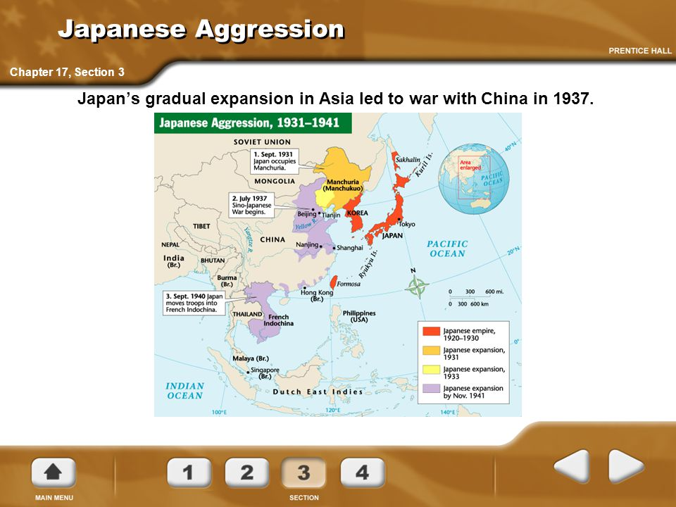 Japanese Aggression Chapter 17, Section 3.
