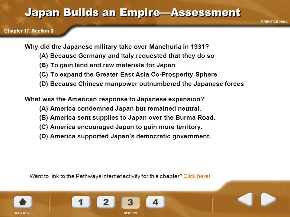 Japan Builds an Empire—Assessment