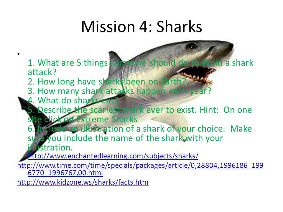 Mission 4: Sharks