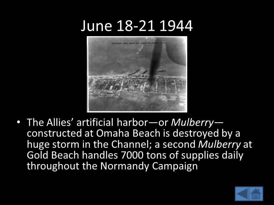 June 18-21 1944