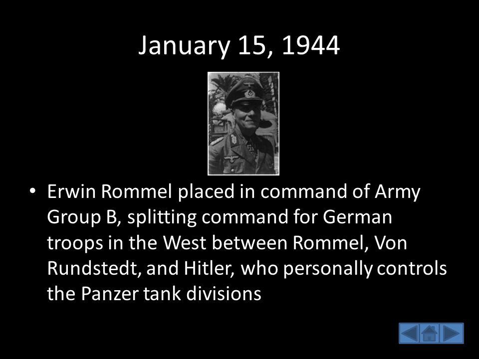 January 15, 1944