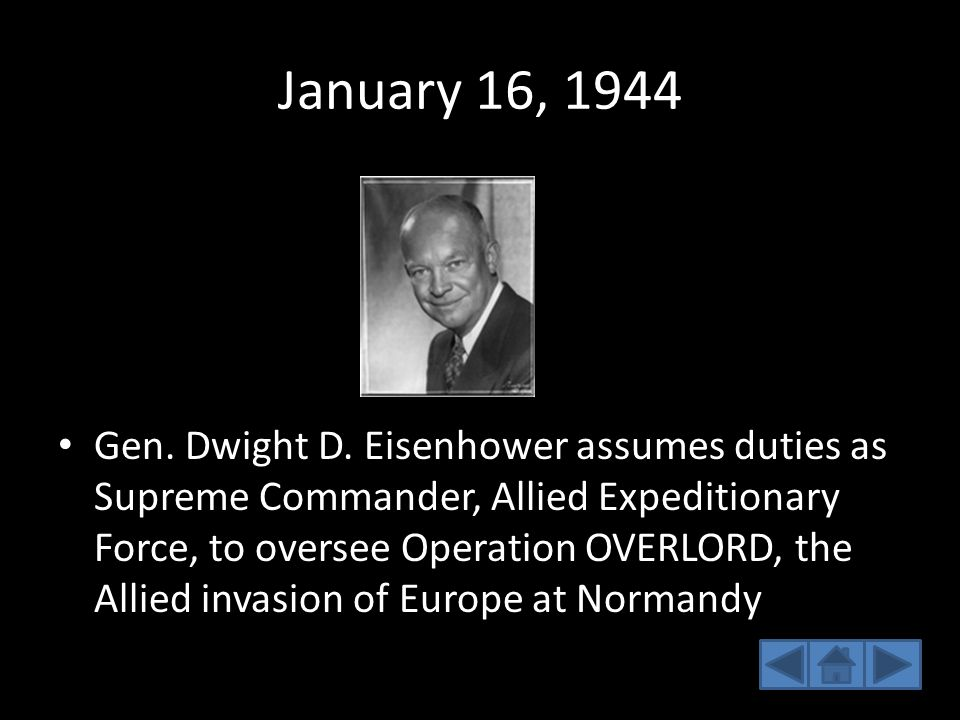 January 16, 1944