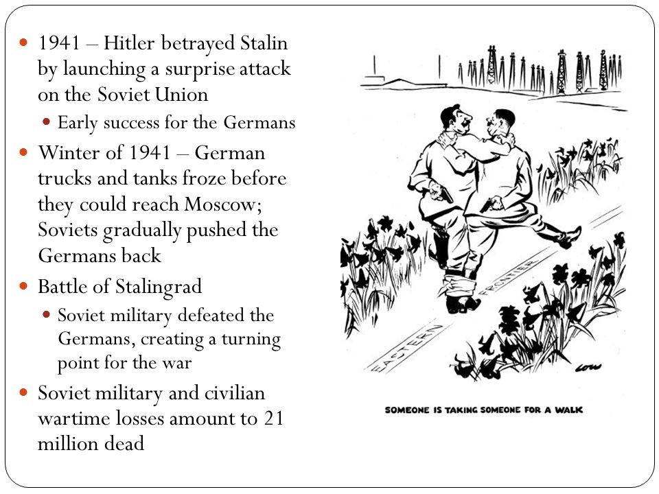Soviet military and civilian wartime losses amount to 21 million dead