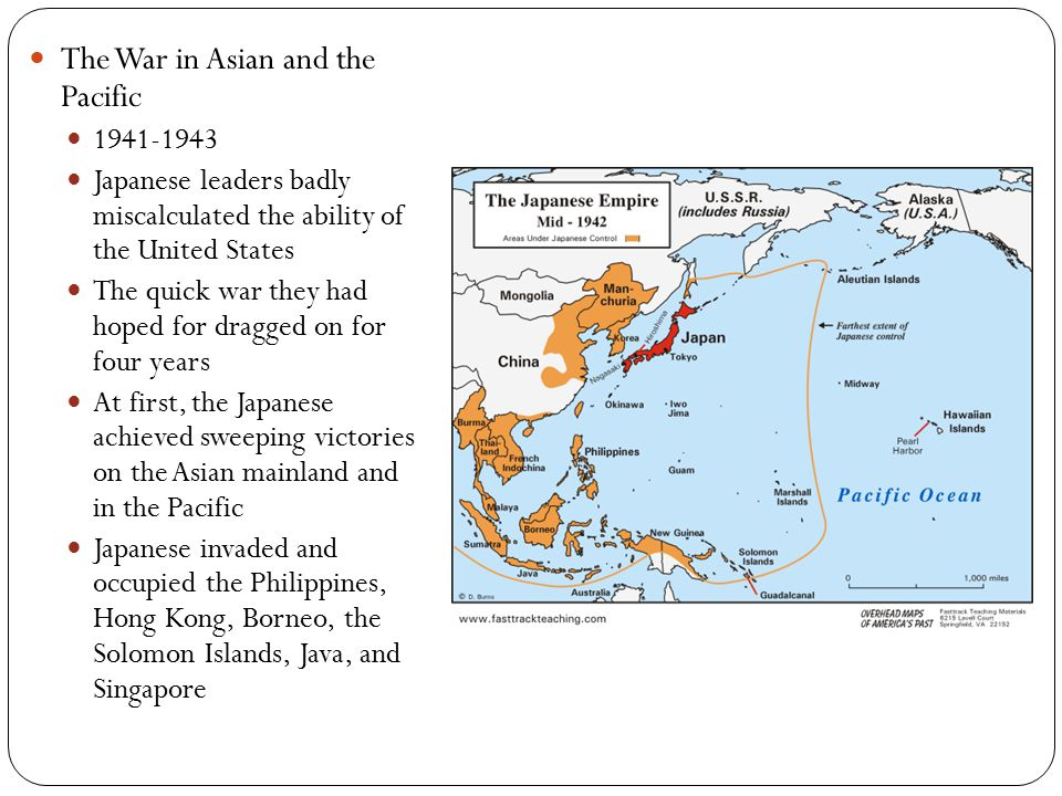 The War in Asian and the Pacific