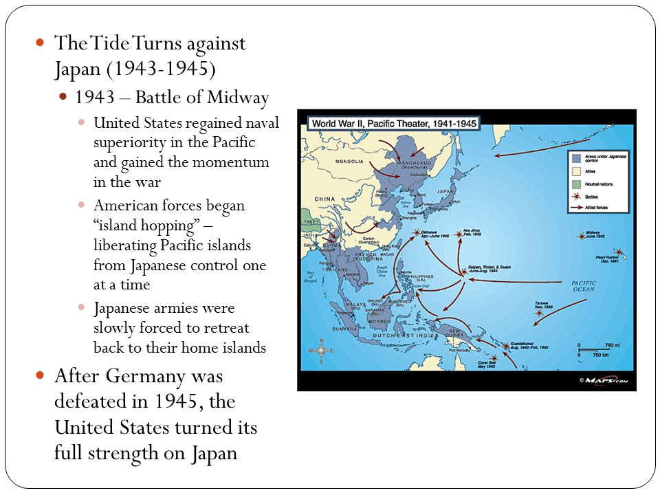 The Tide Turns against Japan (1943-1945)