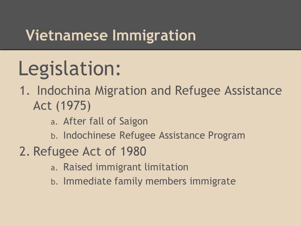 Vietnamese Immigration