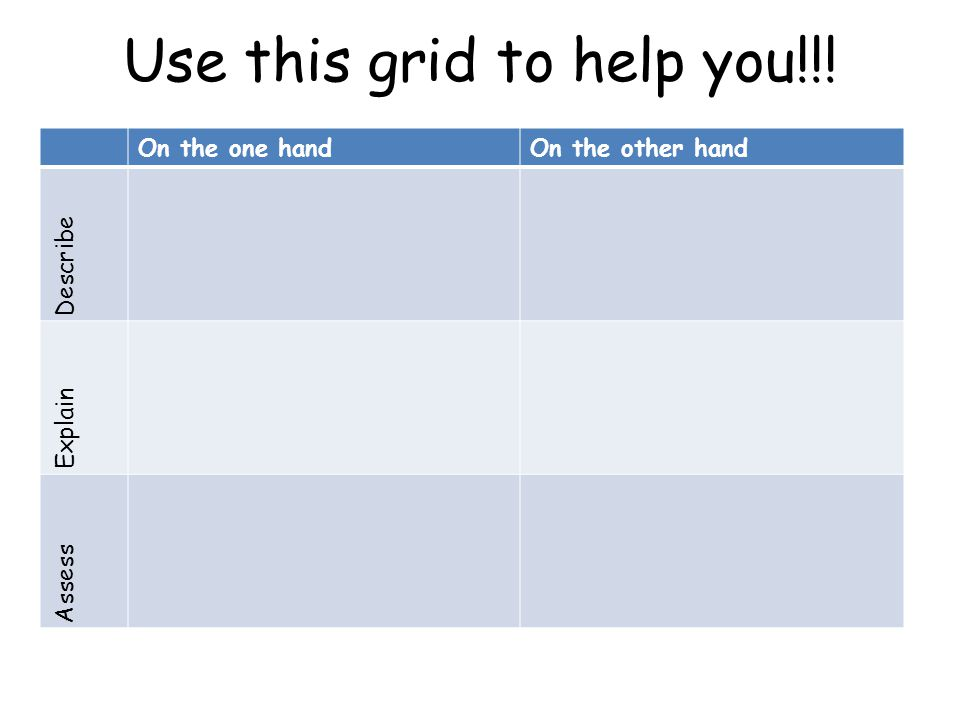 Use this grid to help you!!!
