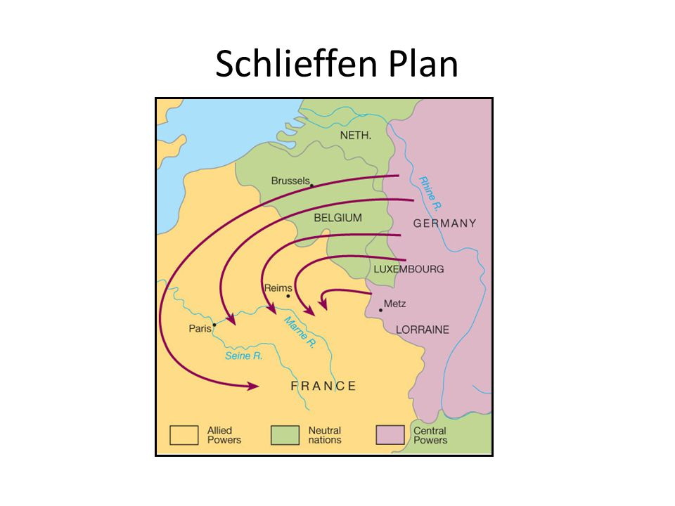 an introduction to the history of the schlieffen plan This alternate history is based on the pod that alfred von schlieffen, architect of the schlieffen plan, does not die in 1913 instead he lives a few more years, long.