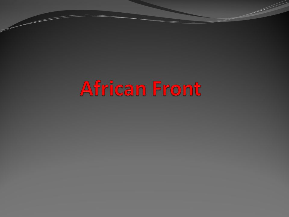 African Front