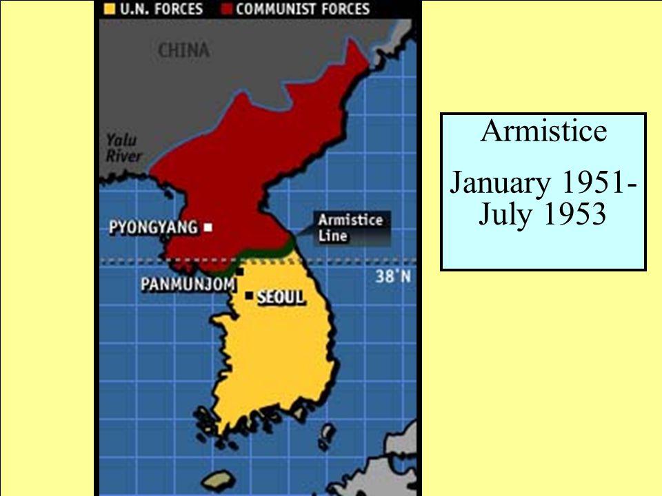 Armistice January 1951-July 1953