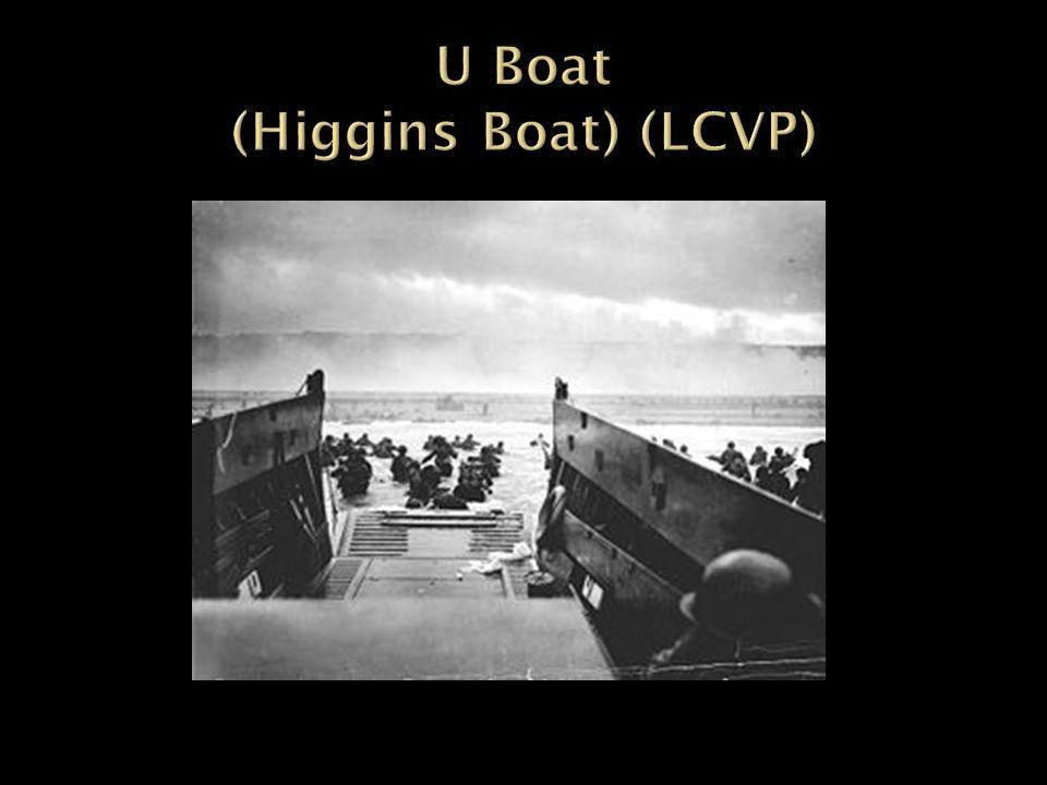 U Boat (Higgins Boat) (LCVP)