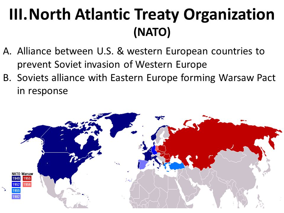 North Atlantic Treaty Organization (NATO)