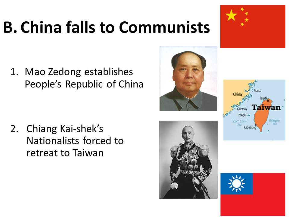 China falls to Communists