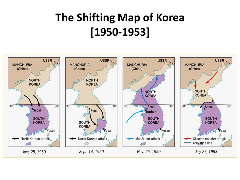 The Shifting Map of Korea [ ]