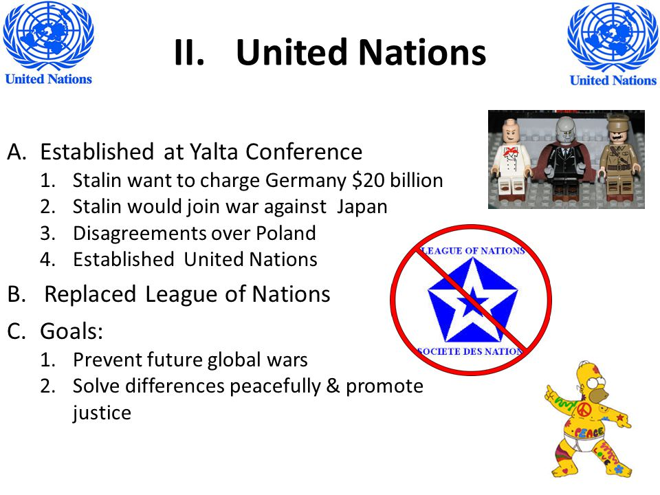 United Nations Established at Yalta Conference