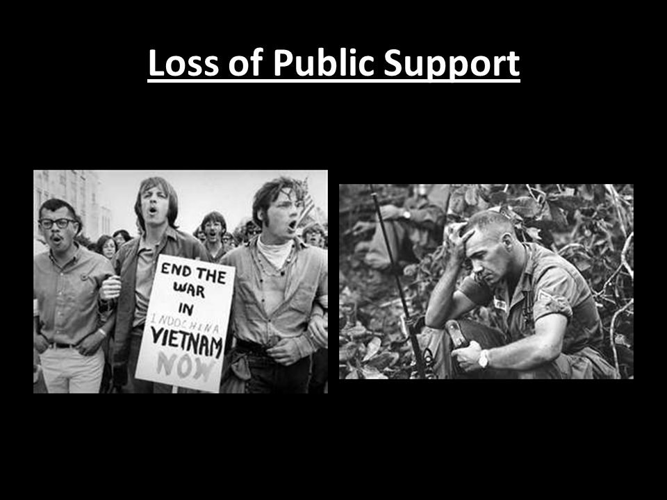 Loss of Public Support