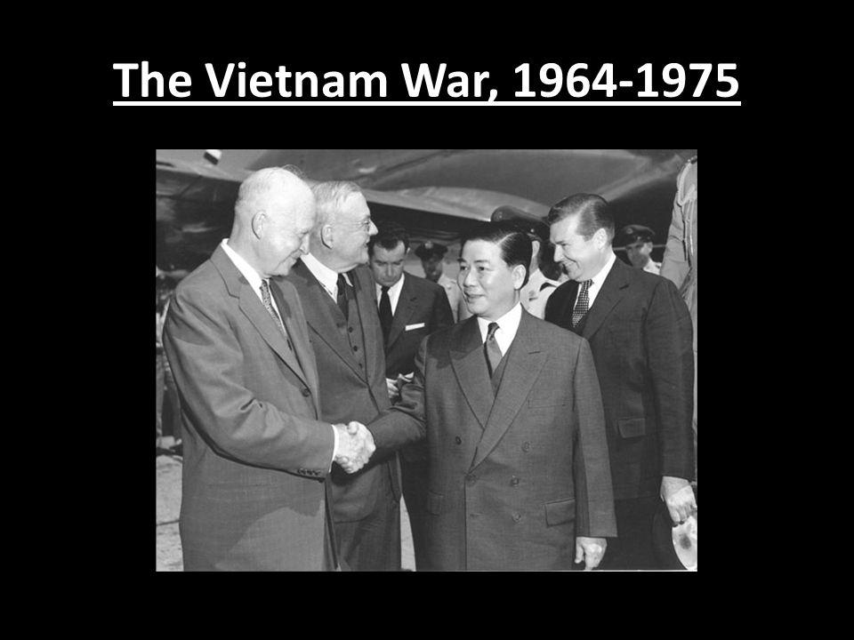 The Vietnam War, 1964-1975