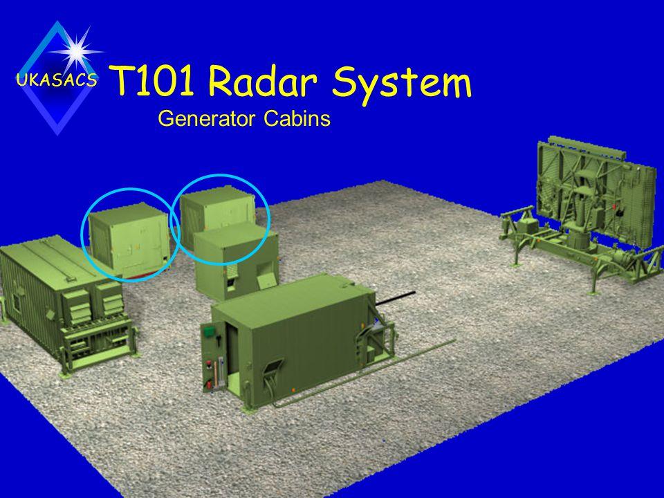 T101 Radar System Generator Cabins