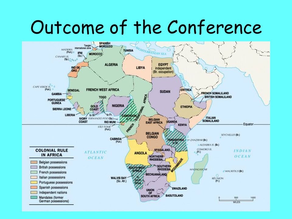 Outcome of the Conference