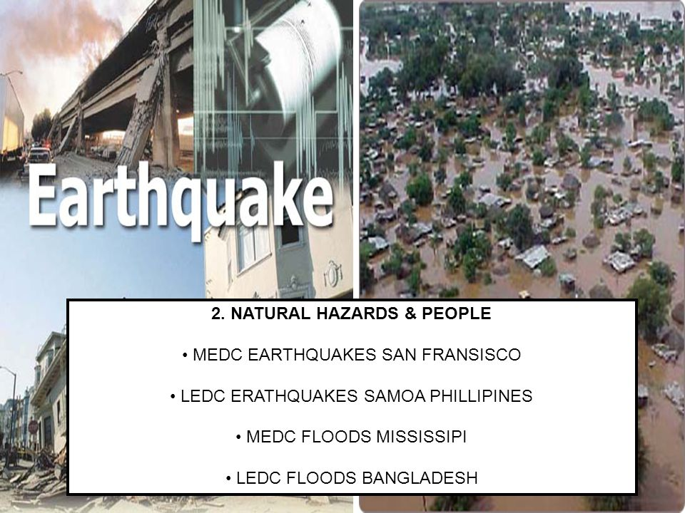 2. NATURAL HAZARDS & PEOPLE