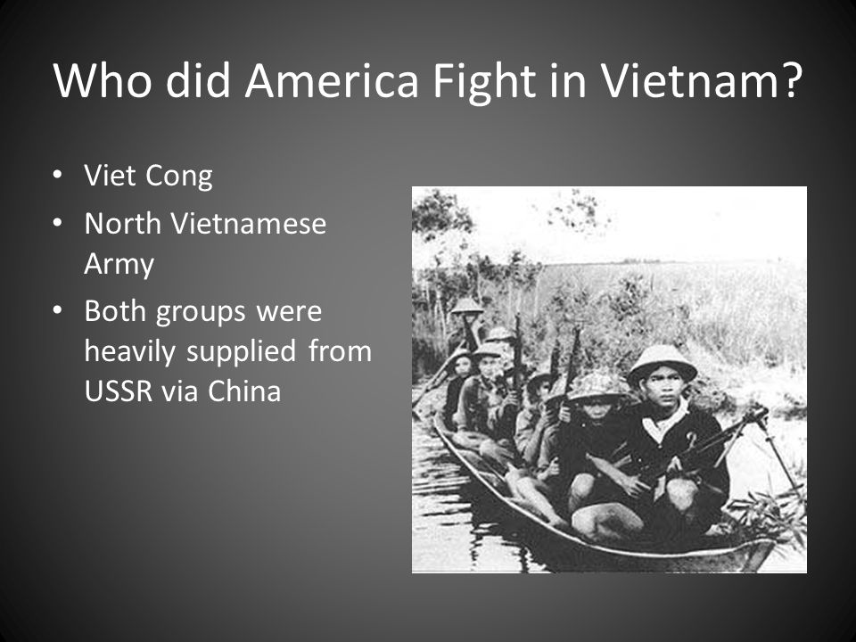 Who did America Fight in Vietnam