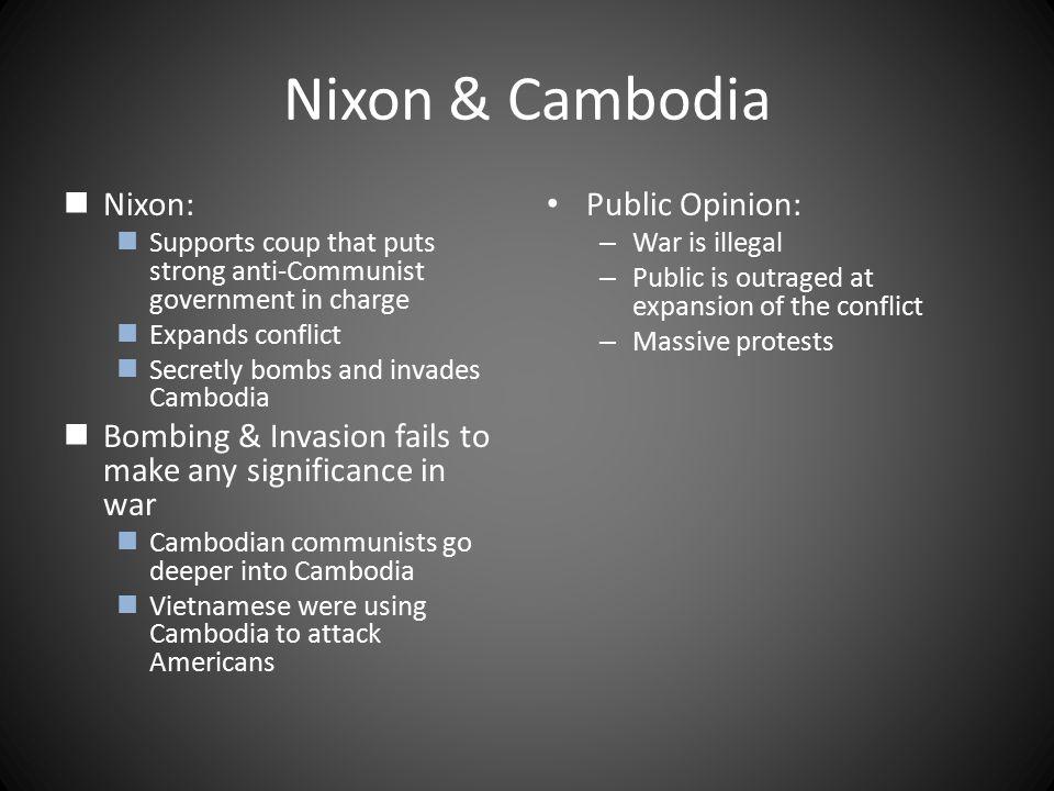 Nixon & Cambodia Nixon: