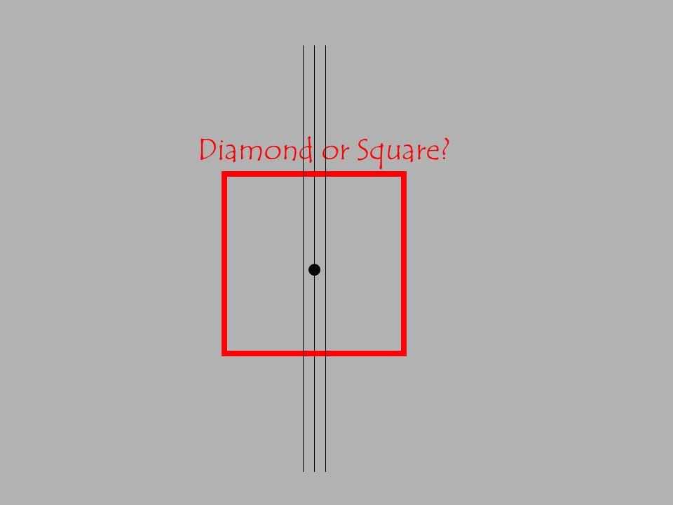Diamond or Square