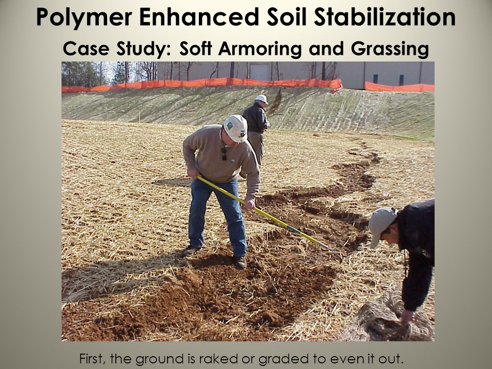 Polymer Enhanced Soil Stabilization Case Study: Soft Armoring and Grassing