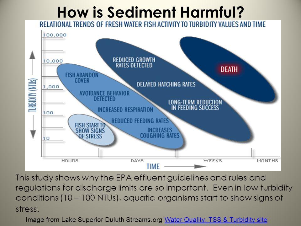 How is Sediment Harmful
