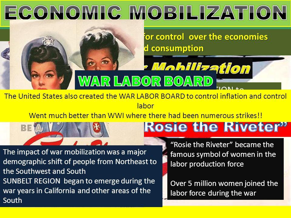 ECONOMIC MOBILIZATION Office of War Mobilization