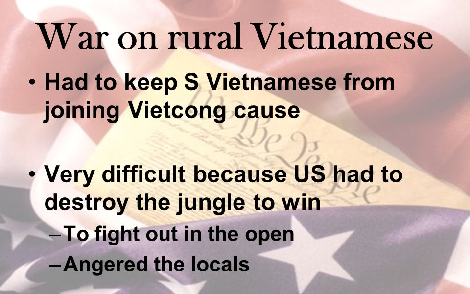 War on rural Vietnamese