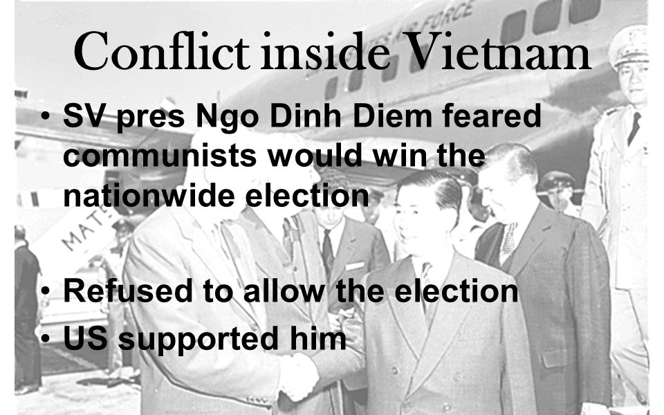 Conflict inside Vietnam