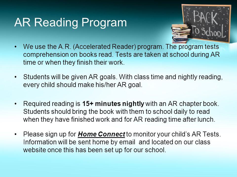 AR Reading Program