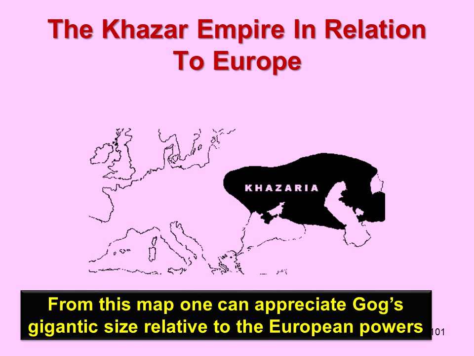The Khazar Empire In Relation To Europe