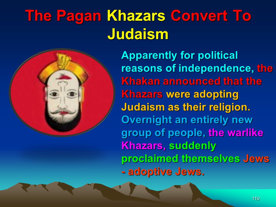 The Pagan Khazars Convert To Judaism