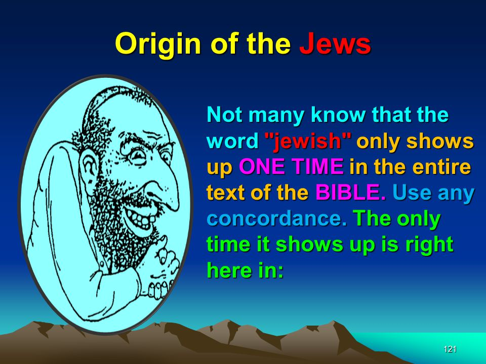 Origin of the Jews