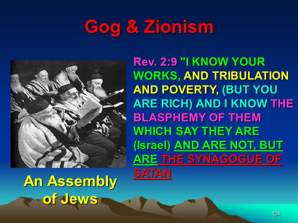 Gog & Zionism An Assembly of Jews