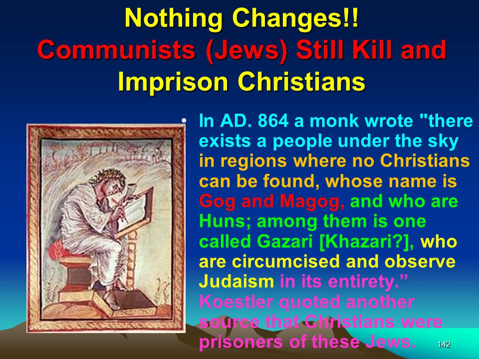 Nothing Changes!! Communists (Jews) Still Kill and Imprison Christians