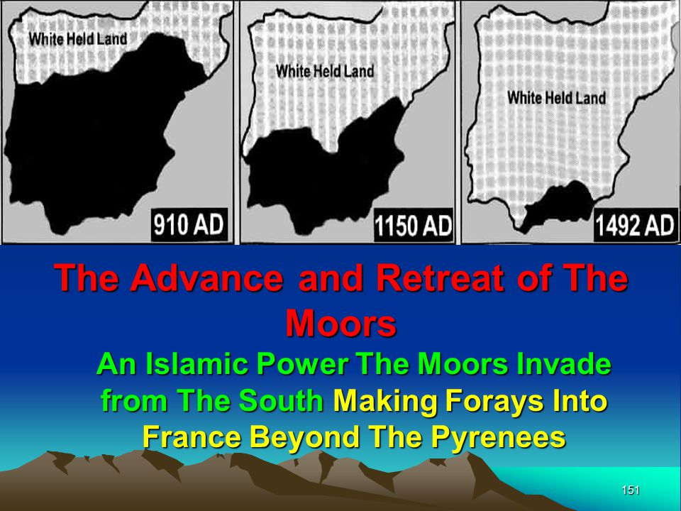 The Advance and Retreat of The Moors