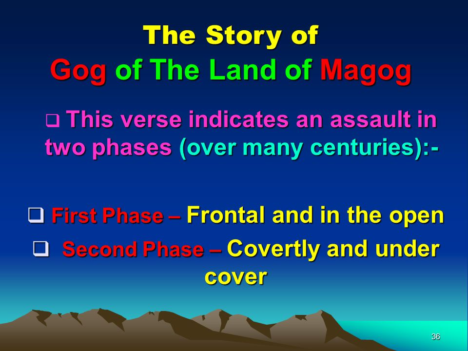 Gog of The Land of Magog The Story of