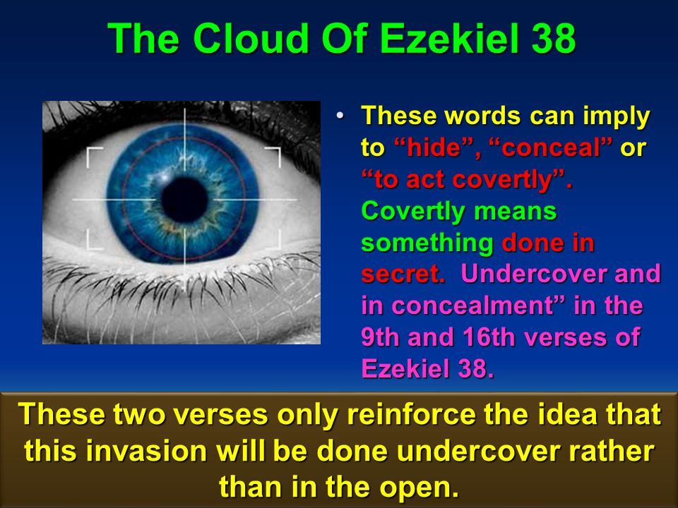 The Cloud Of Ezekiel 38