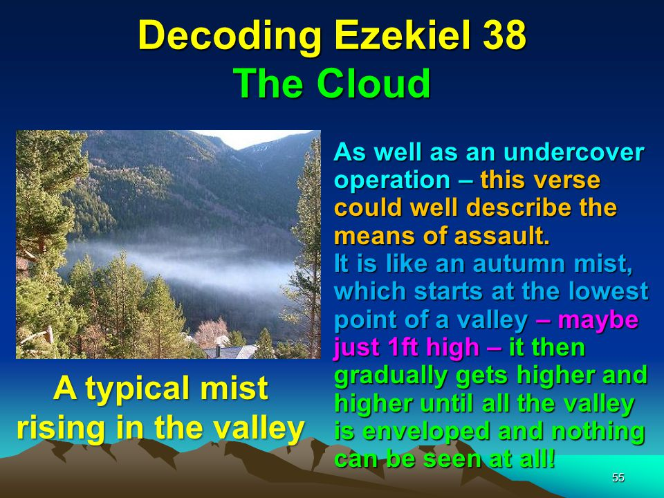 Decoding Ezekiel 38 The Cloud
