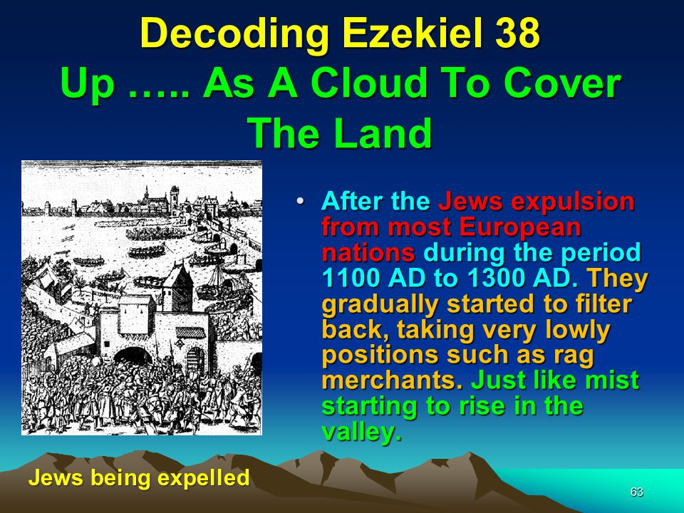 Decoding Ezekiel 38 Up ….. As A Cloud To Cover The Land