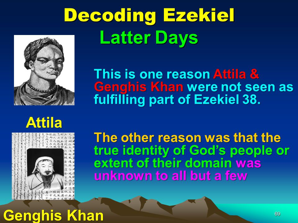 Decoding Ezekiel Latter Days
