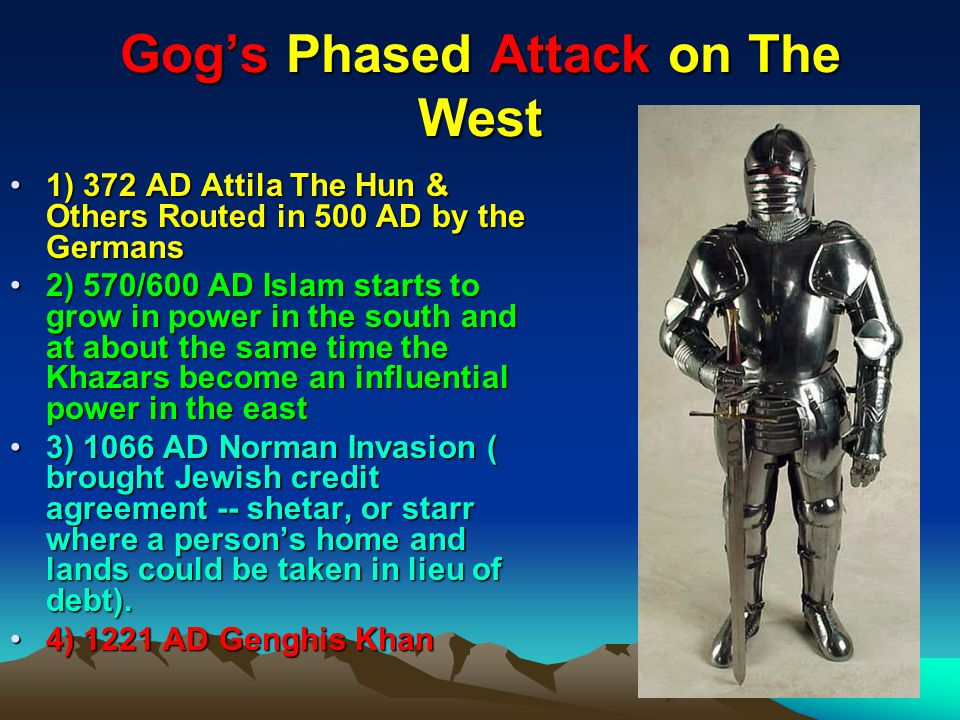 Gog's Phased Attack on The West