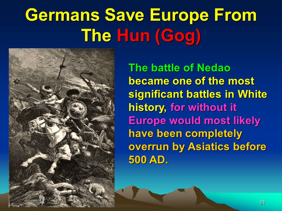 Germans Save Europe From The Hun (Gog)