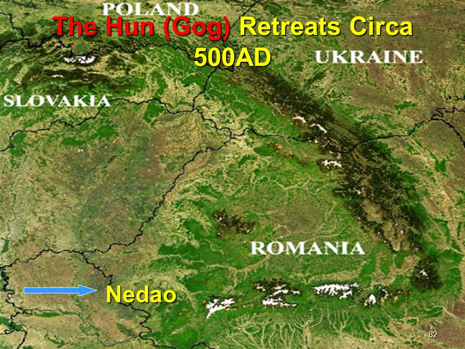 The Hun (Gog) Retreats Circa 500AD
