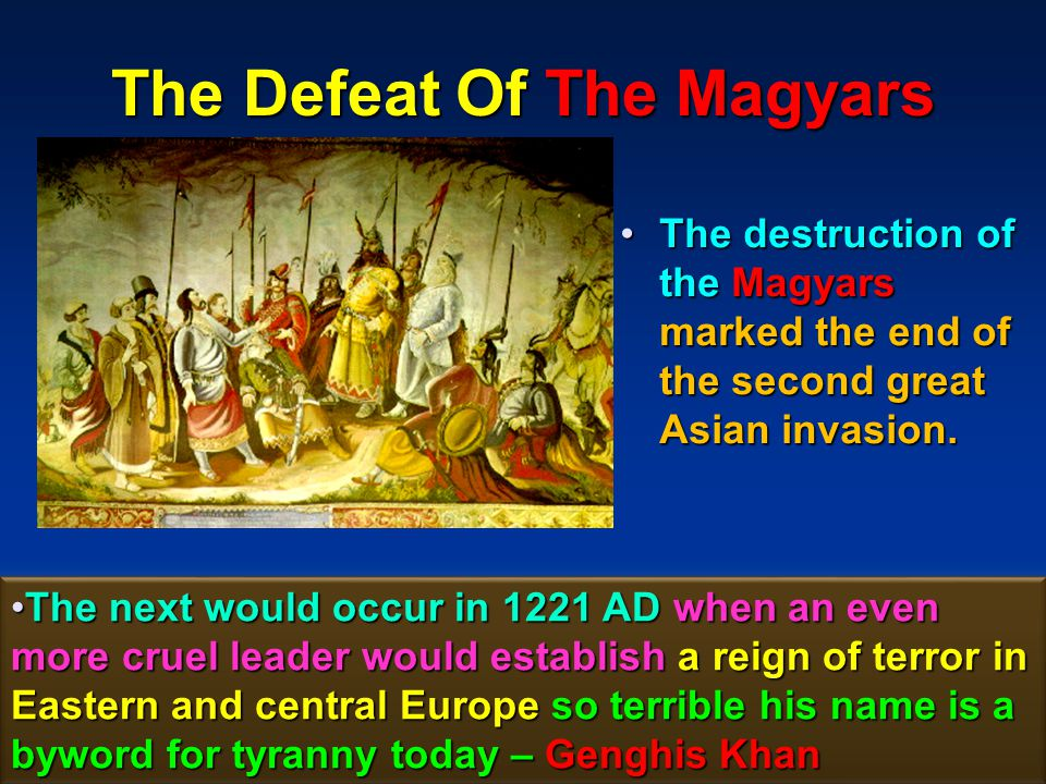 The Defeat Of The Magyars